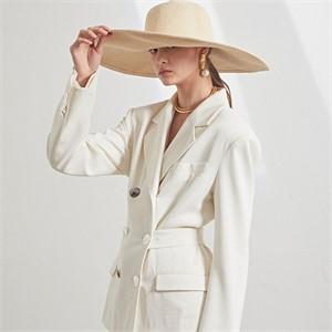 [MUSEE][6차 PRE-ORDER / 셀럽착용] Natalie waist belted blazer _ Cream white