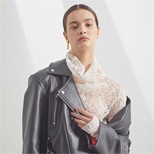 [MUSEE][16차 PRE-ORDER / 셀럽착용]Matisse lambs leather Rider jacket_Black