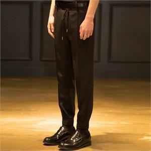 [노이어] Wool Tuxedo Jogger Pants