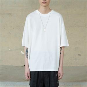 [노이어] Overfit Chain T-shirts WHITE