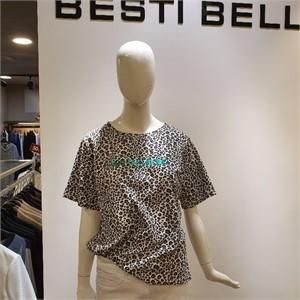 베스띠벨리 NC05 호피무늬 티셔츠 BX-IBE4837