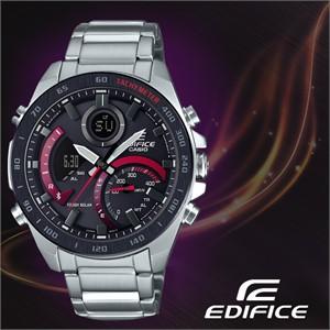 CASIO 카시오 에디피스 ECB-900DB-1A 메탈밴드 남성시계 손목시계