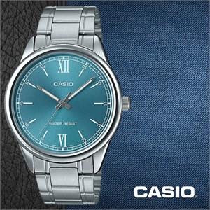 CASIO 카시오 MTP-V005D-3B 메탈밴드 남성시계 손목시계
