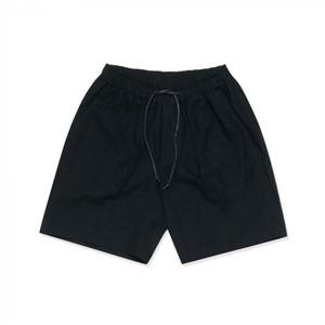 [덕다이브]BASIC LINEN HALF PANTS BLACK