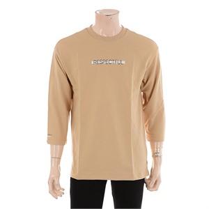 TBJ NC02 미니쮸리 프린트 7부 티셔츠 T172TS040P