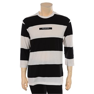 TBJ NC02 남여공용 스트라이프 티셔츠 T172TS060P