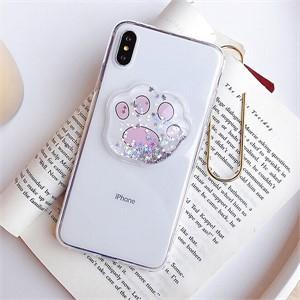 핑크 모찌 아쿠아 아이폰 케이스