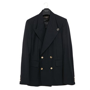 [COLLECTION LINE]EXOTIC LAPEL TAILOR JACKET NAVY