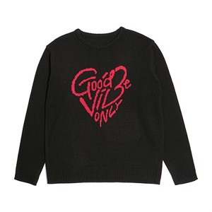 [COLLECTION LINE]GBO LOGO KNIT BLACK