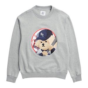 [3/25출고] ILP NY BASEBALL DOG PATCH S-S GRAY