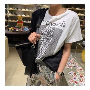 [지에르] 펀칭 티셔츠 ( 화이트, 옐로우, 레드 ) 프리사이즈