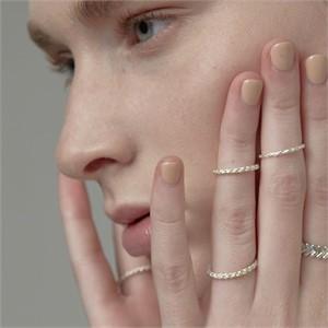 [090팩토리][실버,은반지] Thick thread Ring