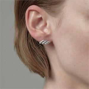[090팩토리][실버,은귀걸이] Stitch Earring