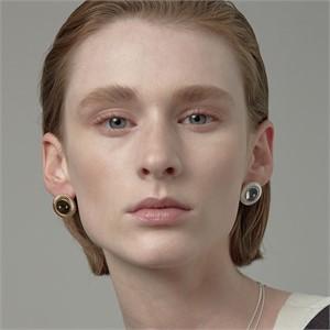 [090팩토리][실버,은귀걸이] Buckle Earring