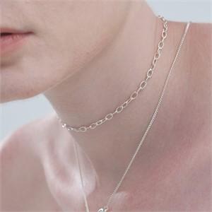 [090팩토리] Two chains Necklace (Bracelet)