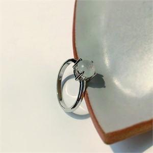 [제이블링] 심플 문스톤 반지