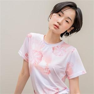 [블리다] peach shell t-shirts