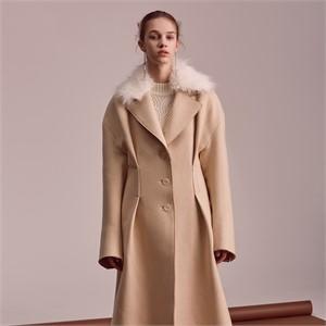 [블리다] ivory cashmere fur coat