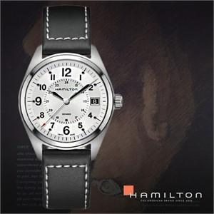 HAMILTON 해밀턴 H68551753 남성시계 가죽밴드 손목시계
