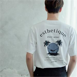 [아르테노] 20s Oversize esthetique t-shirt-WHITE