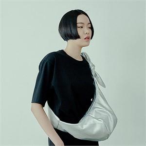 [아르테노] Natural cross bag-SILVER