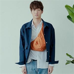 [아르테노] Natural cross bag-ORANGE