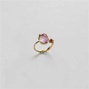 [비베] Dewy Branch Ring  (Gold)