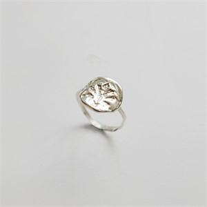 [비베] Oat Stamp Ring (Silver)