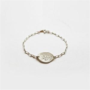 [비베] Leafy Memory Bracelet (Silver)