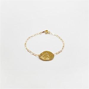 [비베] Leafy Memory Bracelet (Gold)