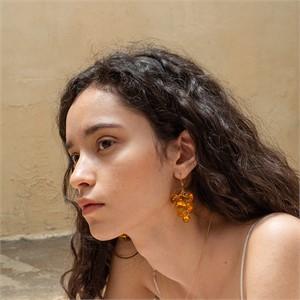 [비베] tangerine Pure Grape Earring