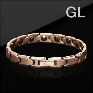 GL 게르마늄 팔찌 99.999% 원석 건강 효도