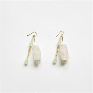 [비베] Glowing Grass Earring
