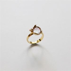 [비베] Glowing Grass Ring (Gold)