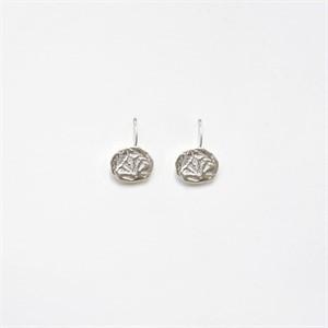 [비베] Oat Circle Earring (Silver)
