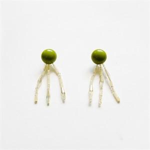 [비베] Greeny Sunshine Earring