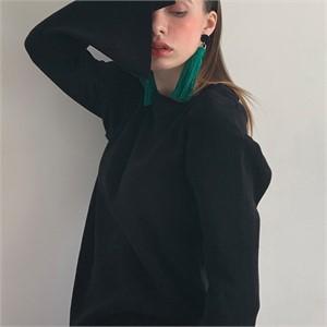[320쇼룸] [320쇼룸]메리노 나노 네츄럴 티셔츠-블랙