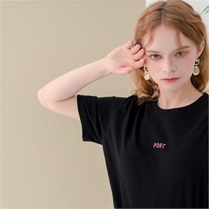 [320쇼룸]Port Showroom Tshirts Black