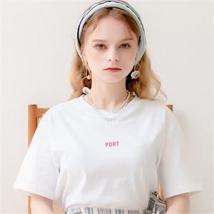 [320쇼룸]Port Showroom Tshirts White