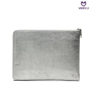 [베리제이]더블핸드 클러치 VJ0043 실버