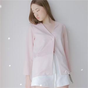 [블레어바이스퀘어] [blair by square] No Collar Jacket (2 Color)