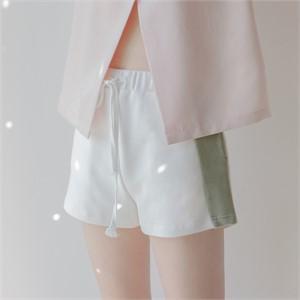 [블레어바이스퀘어] [blair by square] Colour Block Shorts (2 Color)
