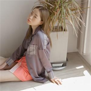 [블레어바이스퀘어] [blair by square] Wrap Skirt (Coral)