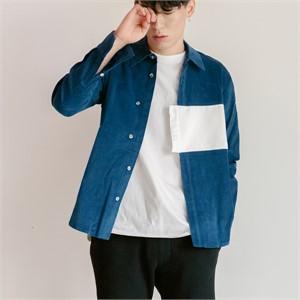 [블레어바이스퀘어] [blair by square] Block Shirt (2 Color)
