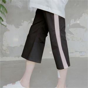 [블레어바이스퀘어] [blair by square] Open Seam Wide Slacks (2 Color)