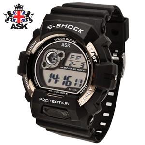 [正品][ASK] SK295K 디지털 우레탄밴드 남성용 시계