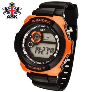[正品][ASK] SK297O 디지털 우레탄밴드 남성용 시계