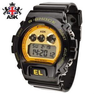 [正品][ASK] SK298G 디지털 우레탄밴드 남성용 시계