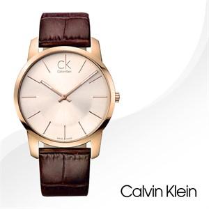 CalvinKlein K2G21629 캘빈클라인 CK 가죽 밴드 시계