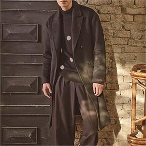 [소윙바운더리스] STRAIGHT DOUBLE COAT(BLACK)